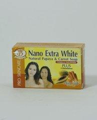 Nano Extra White Natural Papaya & Carrot Soap
