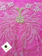 Pearls And Stoned Indian Lace Placer-07