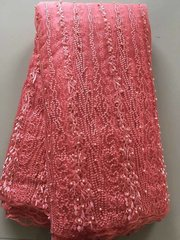 TULLE WITH BEADS-383