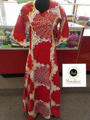 STONED ANKARA DRESS-32