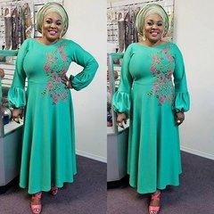 Floral Embellished Dress-72