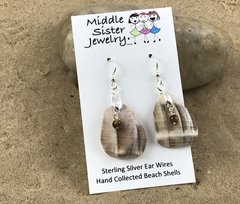 Conch Shell Earrings - CESH10