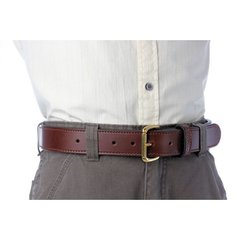 SUPERSTIFF™ Bull Hide BULLBELT® with Internal Steel Stiffener
