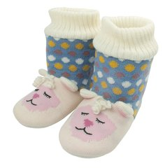 Aroma Home Knitted Animal Booties ~ Lamb