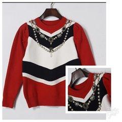 Beaded Embellished Sweater