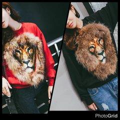 Fur Lioness Sweatshirt