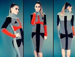 Metric Sweater Midi Dress