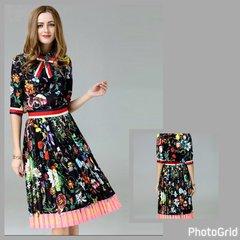2-Piece Midi Skirt & Top