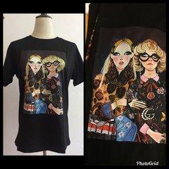 Guccy Fashion Portrait Tshirt