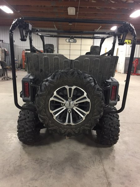 Honda Pioneer Bed Extender Spare Tire Mount Jei Offroad