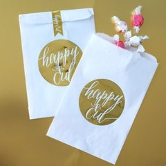 """Happy Eid"" Gold Foil Bag"