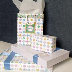 """""""Mubarak"""" Baby Gift Wrap Bundle"""