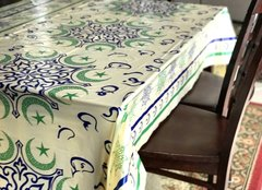 Crescent Moon Disposable Table cover