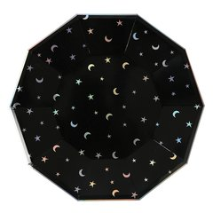 Stars & Moon Large Plate