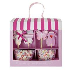 Baby Pink Cupcake Kit