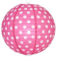 "Polka Dots Paper Lanterns 14"""