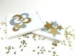 Gold/Silver Crescent Napkin
