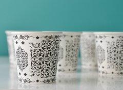 Islamic Design Coffee Paper Cups 4oz