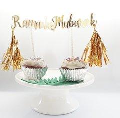Ramadan,Mubarak, Happy, Eid Cursive Cutouts