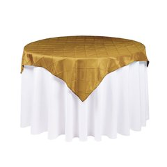 Square Pintuck Chameleon Tablecloth Overlay Cover