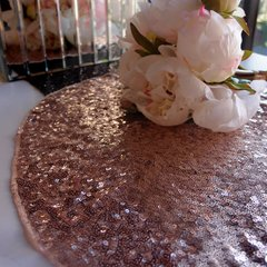 Sequin Round Table Placemats