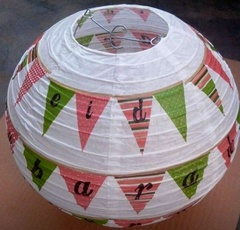 Eid Mubarak Paper Lantern