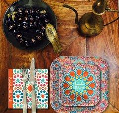Arabesque Tangier Dinner Paper Plates
