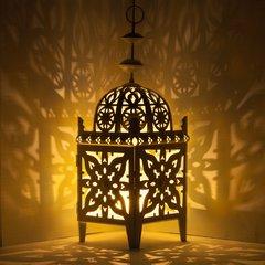 Large Moroccan Lantern Candleholder