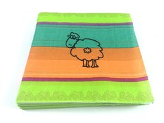 Sheep Design Napkin