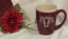 Santa Gertrudis Ceramic Screen Printed Mug