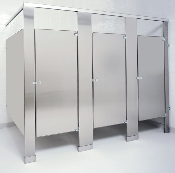 Hric2ss toilet partitions toilet partitions and accessories for Commercial bathroom fixtures stainless steel