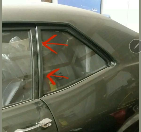 1968 74 Nova Quarter Glass Window Molding Clip Midwest