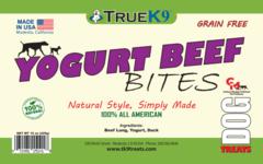 15oz Bag Yogurt Beef Bites with Duck.