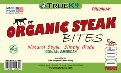 Organic Steak Bites