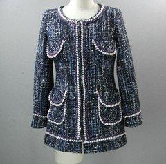 2155 Madam Coco Elegant Tweed Blazer