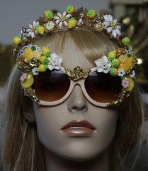 1314 Baroque Designer Inspired Lemon Cherub Sunglasses Shades