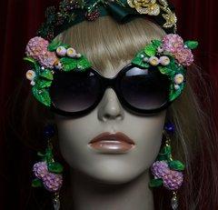 1979 Hydrangea Bee Vivid Embellished Sunglasses