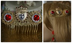 1459 Baroque Sacred Heart Hair Wear