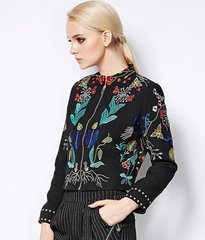 448 Beautiful Embroidery Short Blazer