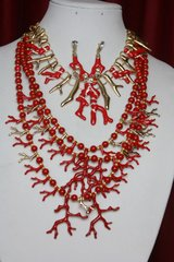 SOLD! 2363 Nautical MArine Coral Massive Multi Layered Set