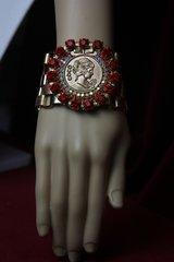 1734 Madam Coco Red Crystal Bracelet