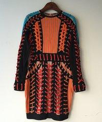 1592 Designer Inspired Bandage Bodycon Perfect Fit Shoe Lace Mini Dress