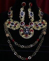 1788 Total Baroque Crystal Byzantine Set
