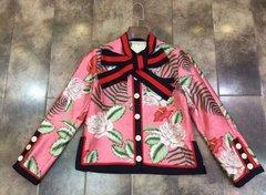 660  Fall 2016 Floral Pink Blazer