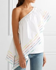 2197 Designer Inspired 2 Colors Cotton 100% Top US2-US4