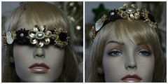 1310 Baroque Brooches Enamel Embellished Headband