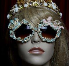 1825 Baroque Pearlish Aqua Crown Vivid Cherub Sunglasses