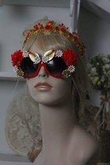 93 SOLD! Spring 2016 Fancy Red Peony Sunglasses Eye Wear