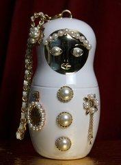 SOLD! 1866 Madam Coco Russian Doll Matryoshka Embellished Clutch Purse