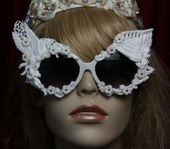 1876 White Architect Pegasusu Victorian Unusual Sunglasses